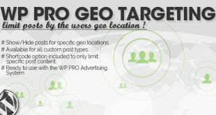 WP Pro Geo Targeting Free Download