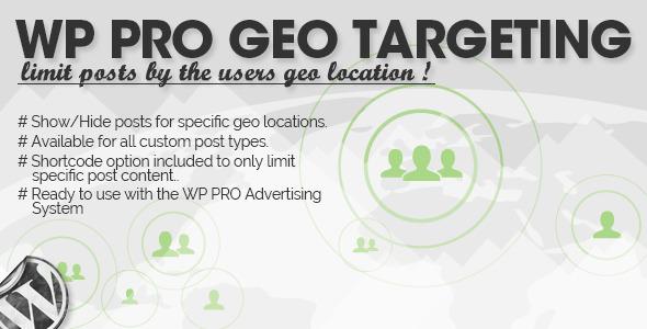 WP Pro Geo