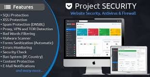 Project SECURITY – Website Security, Antivirus & Firewall Free