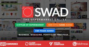 Supermarket Online Theme
