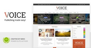 voice wordpress theme
