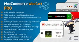 WooCart Pro – Dropdown Cart for WooCommerce