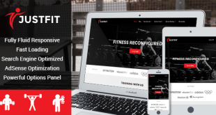 JustFit Free WordPress Theme Download